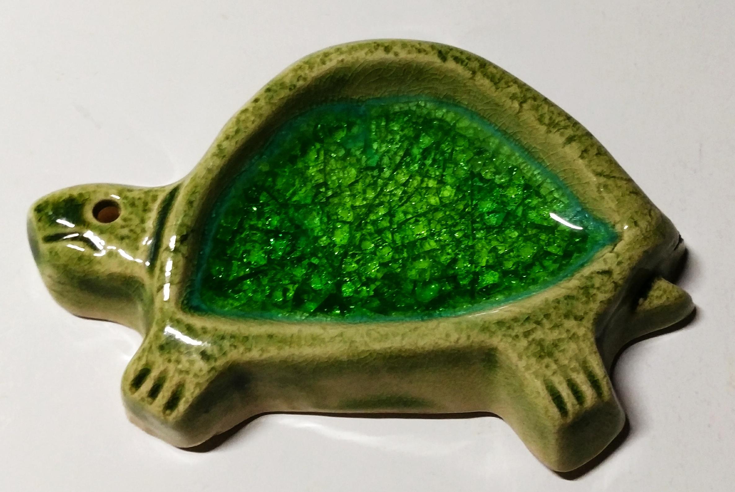烏龜香插 (綠背)