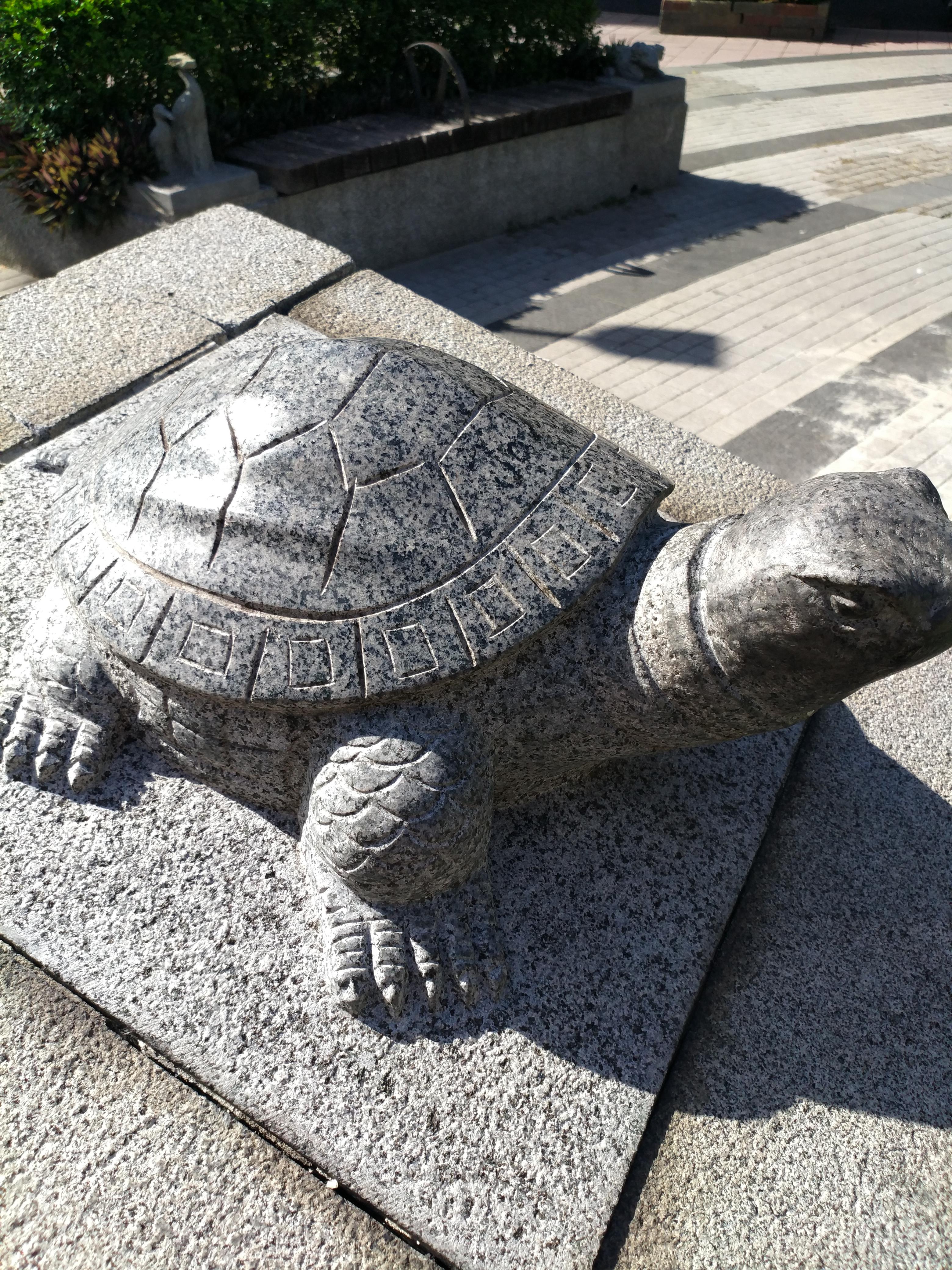 2018-07-16 烏龜雕像 (瑠公圳公園)
