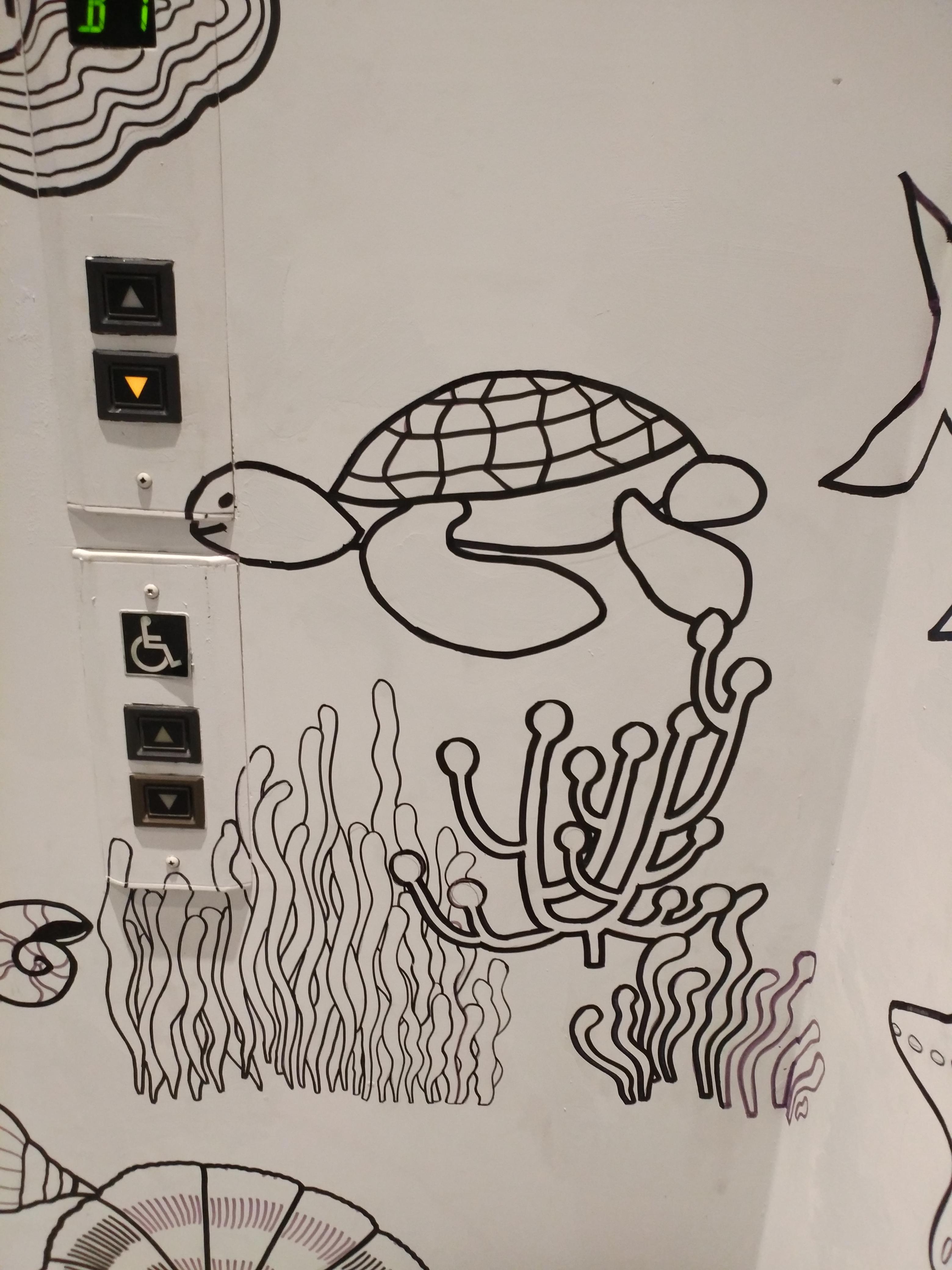 海底世界壁畫