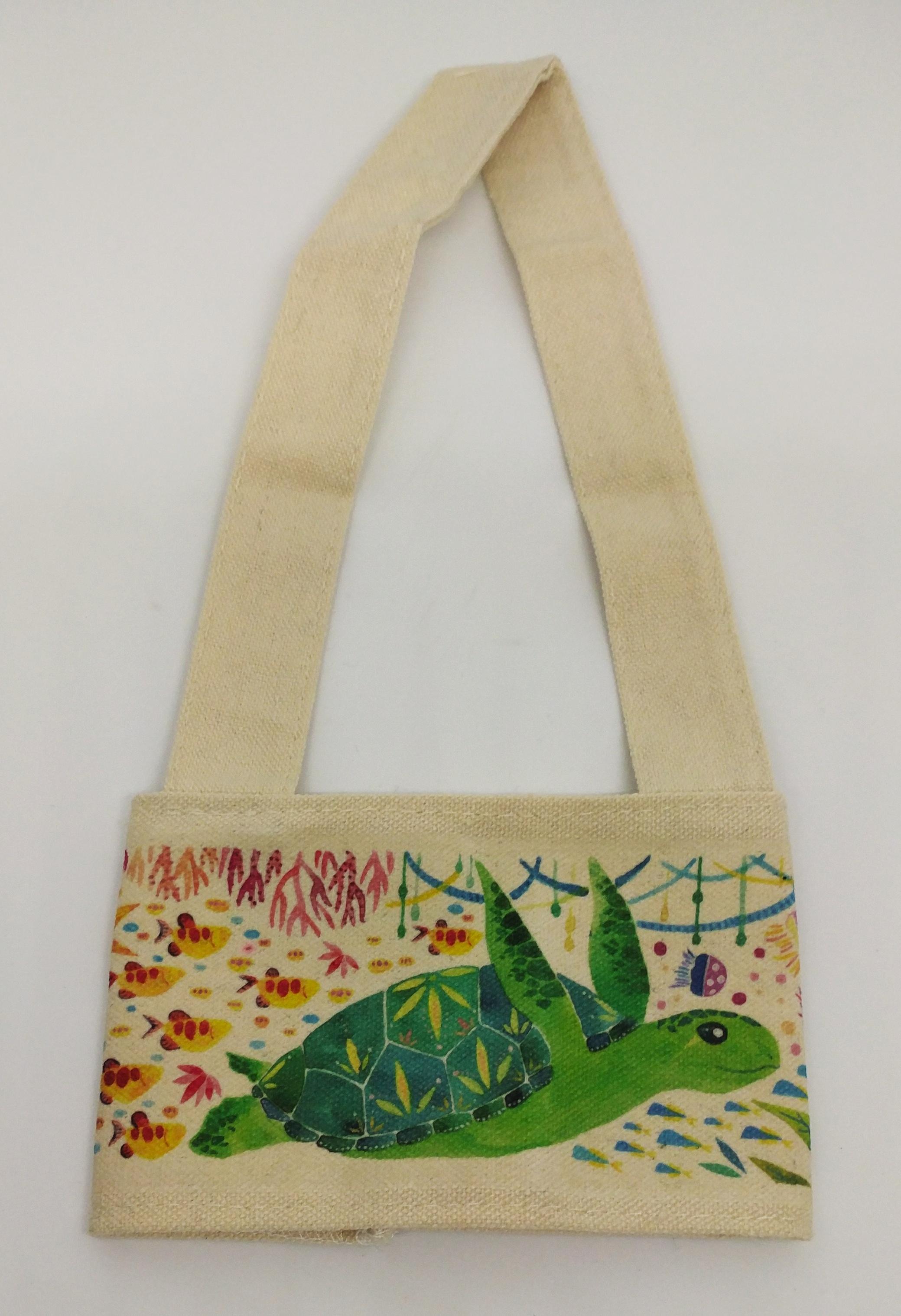 魚七分海龜飲料提袋