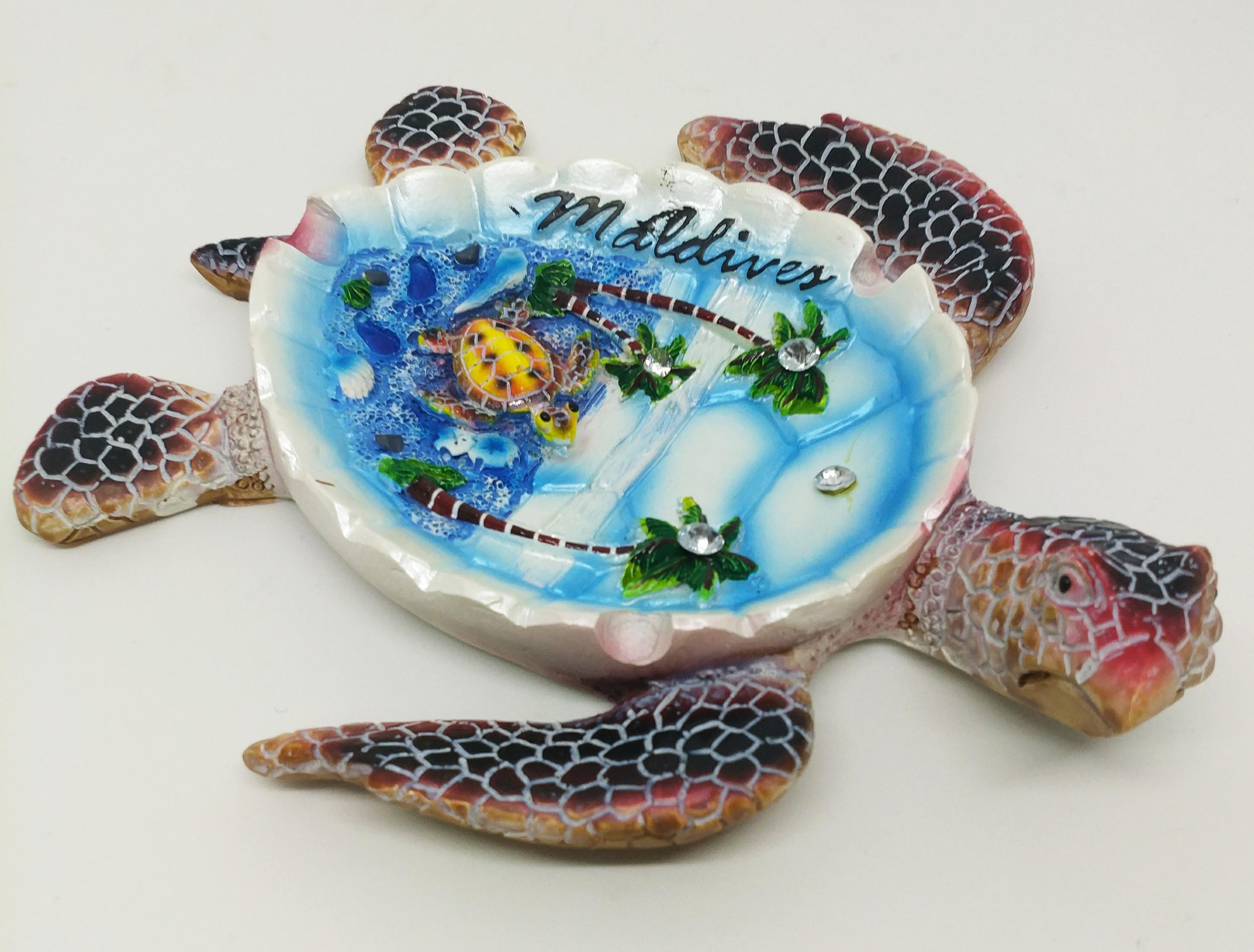 海龜菸灰缸 (馬爾地夫)