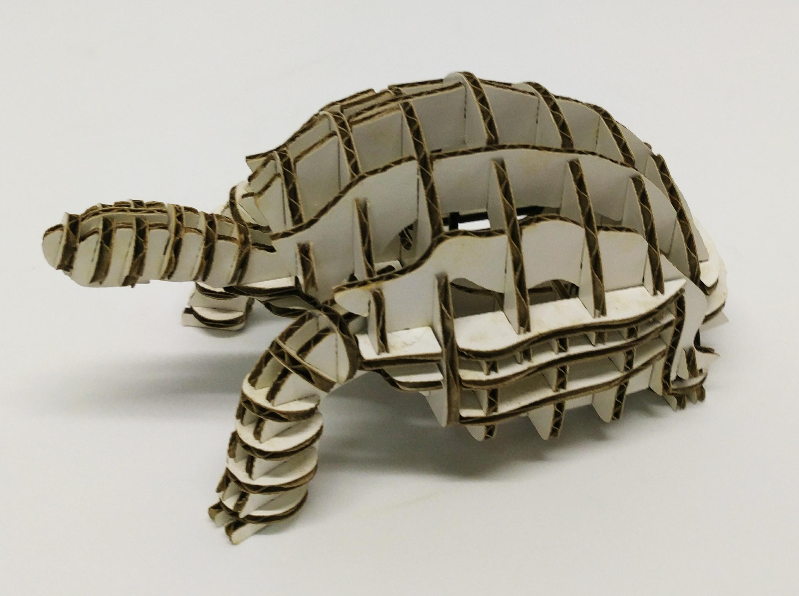 紙烏龜模型