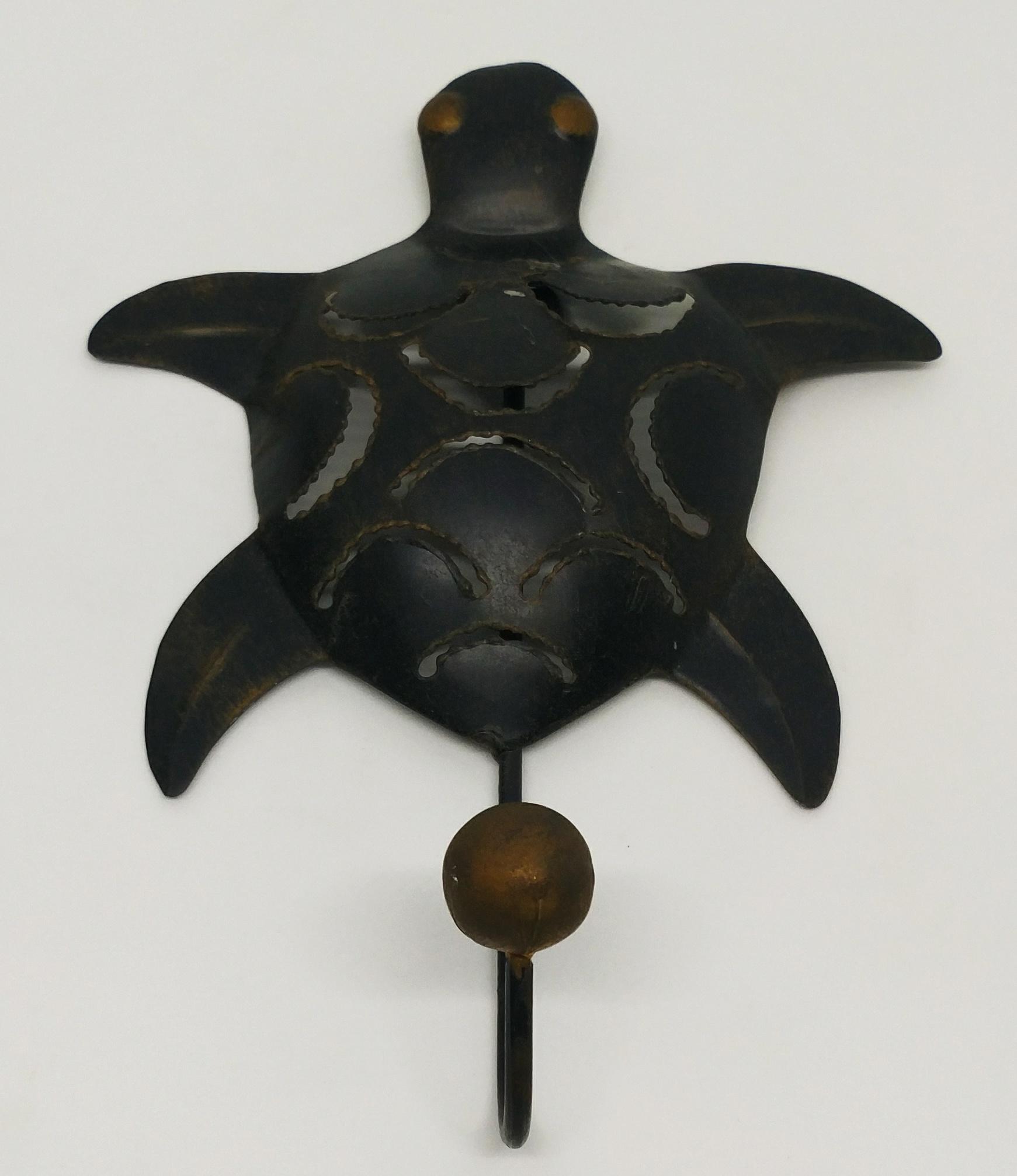 海龜掛鉤 (黑色單鉤)