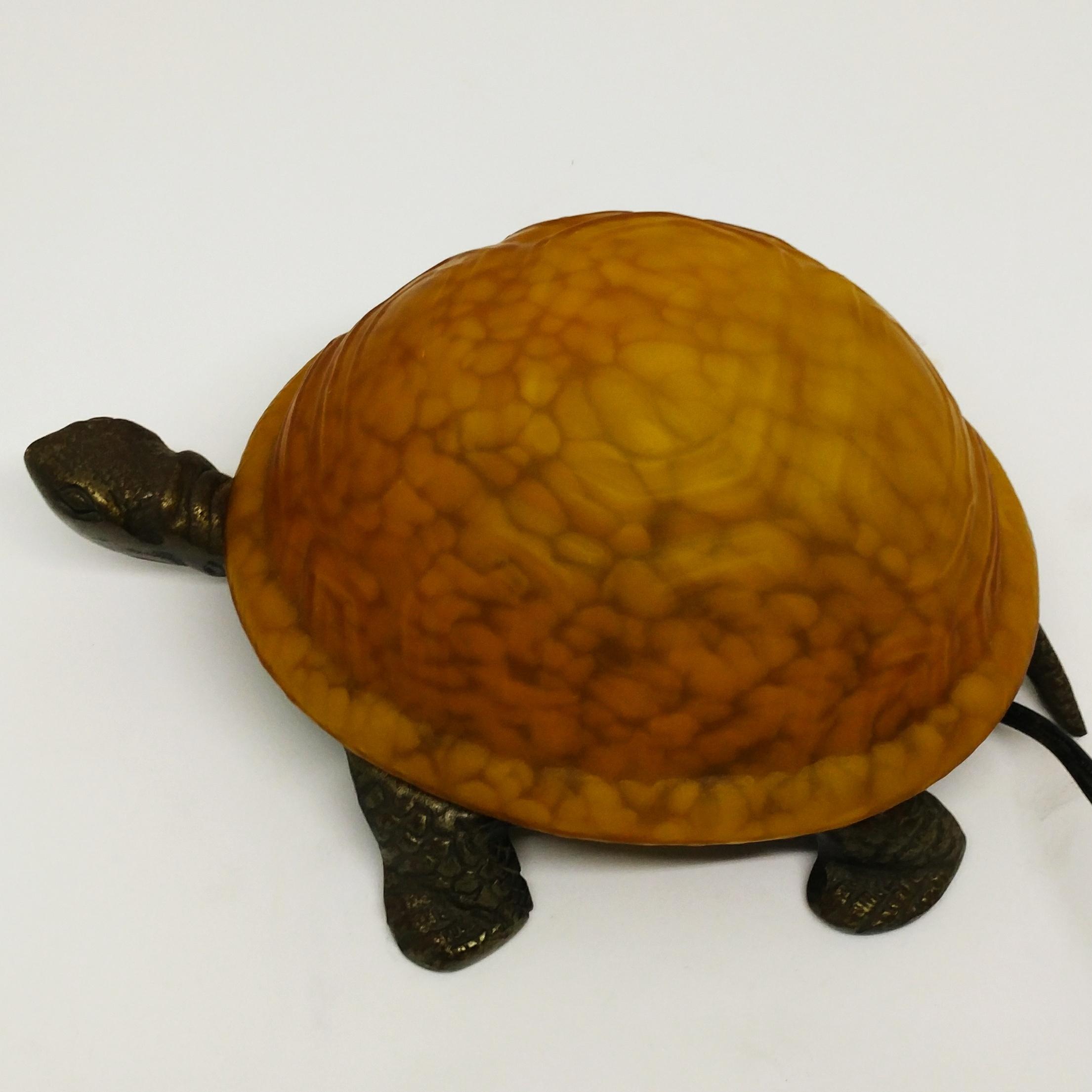 烏龜檯燈 (黃)