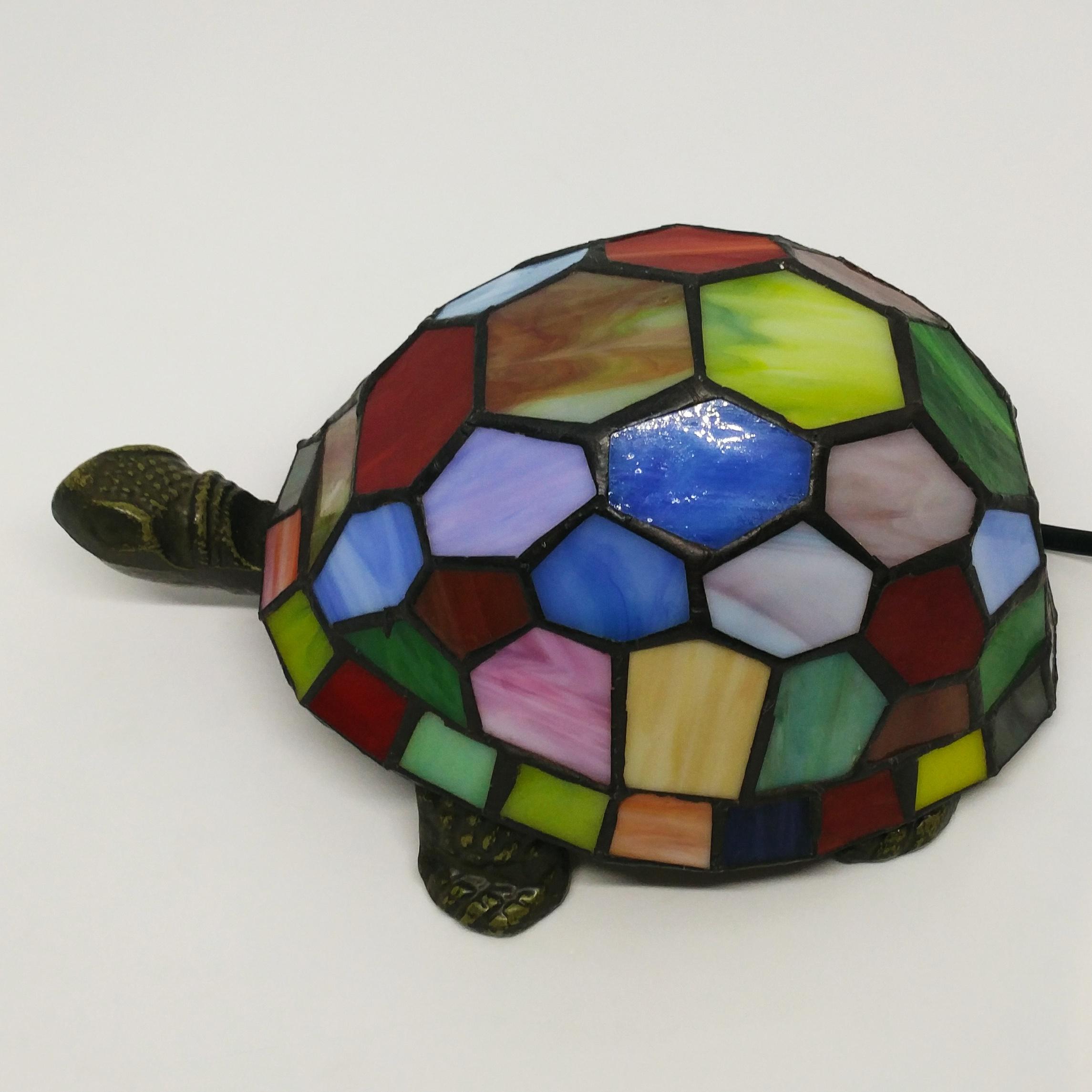 烏龜檯燈 (彩色)