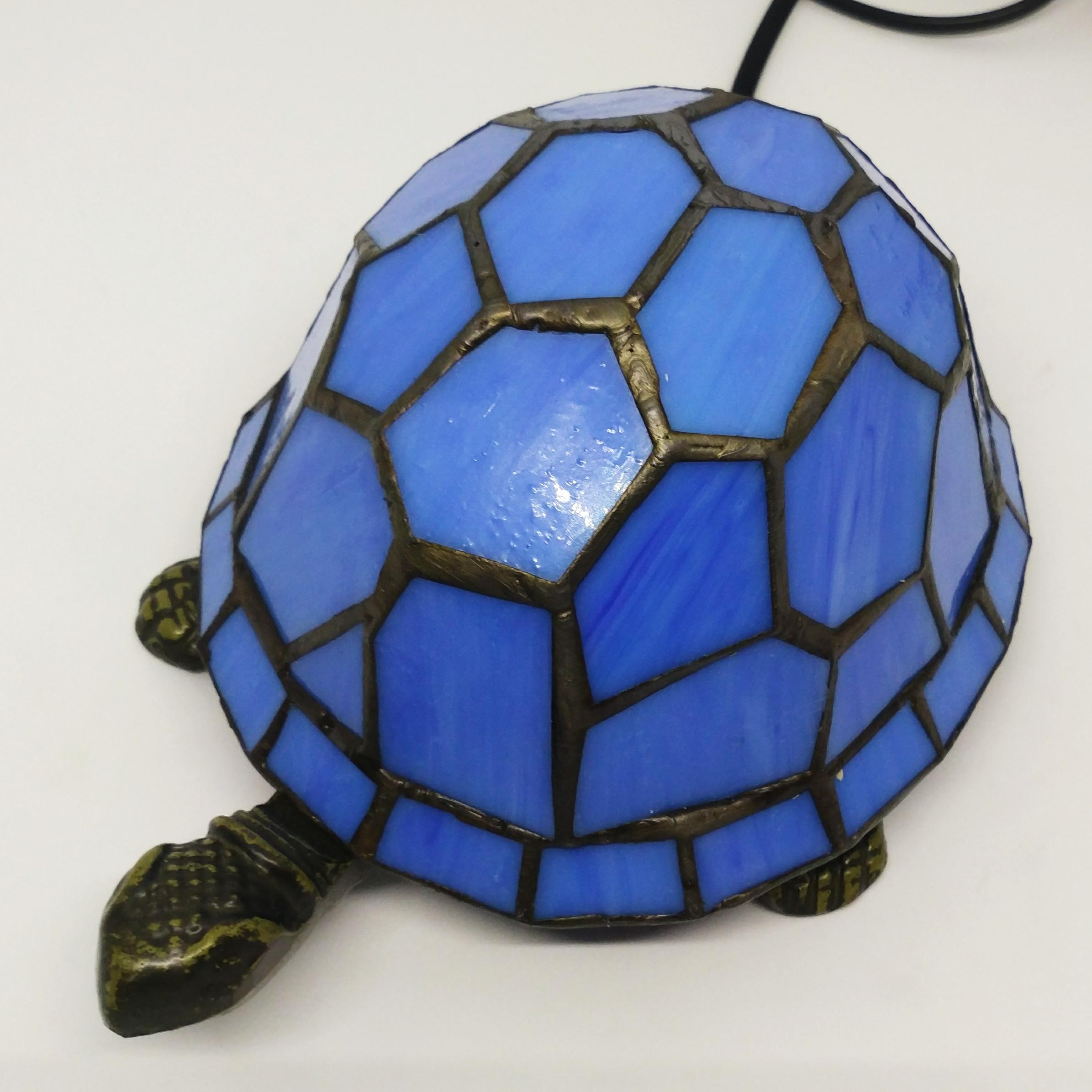 烏龜檯燈 (藍)