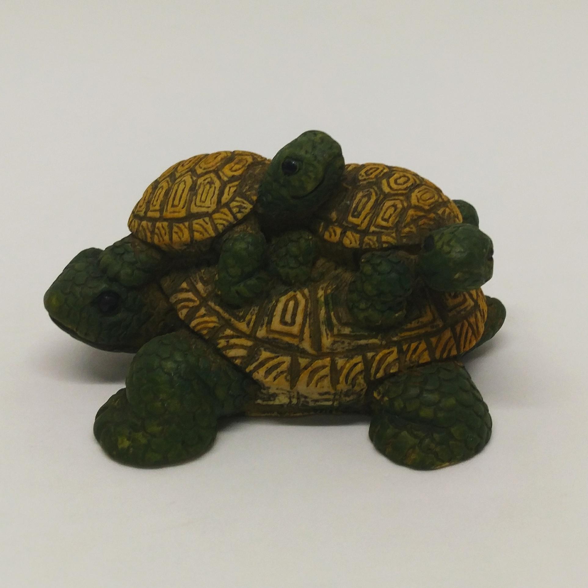 烏龜疊疊樂 (大中小黃)