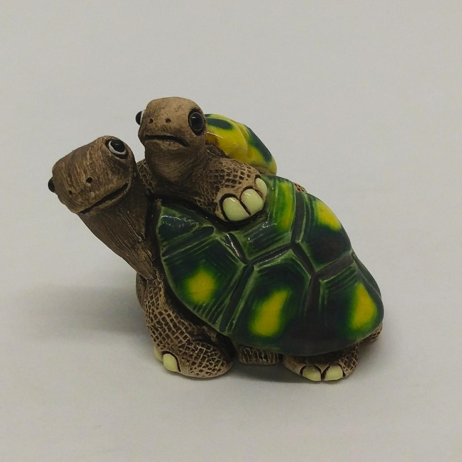 烏龜疊疊樂 (母子)