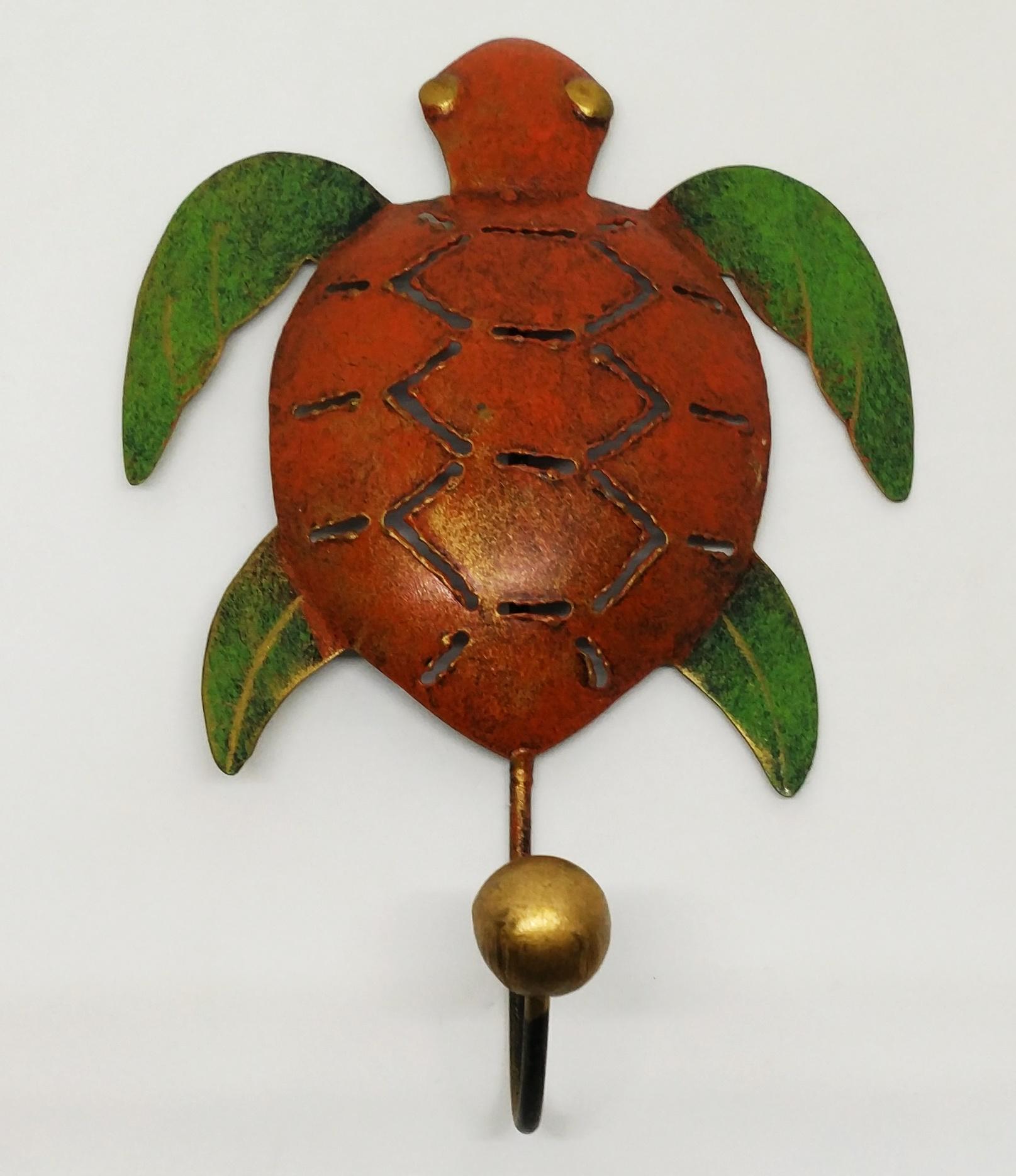 海龜掛鉤 (紅色單鉤)