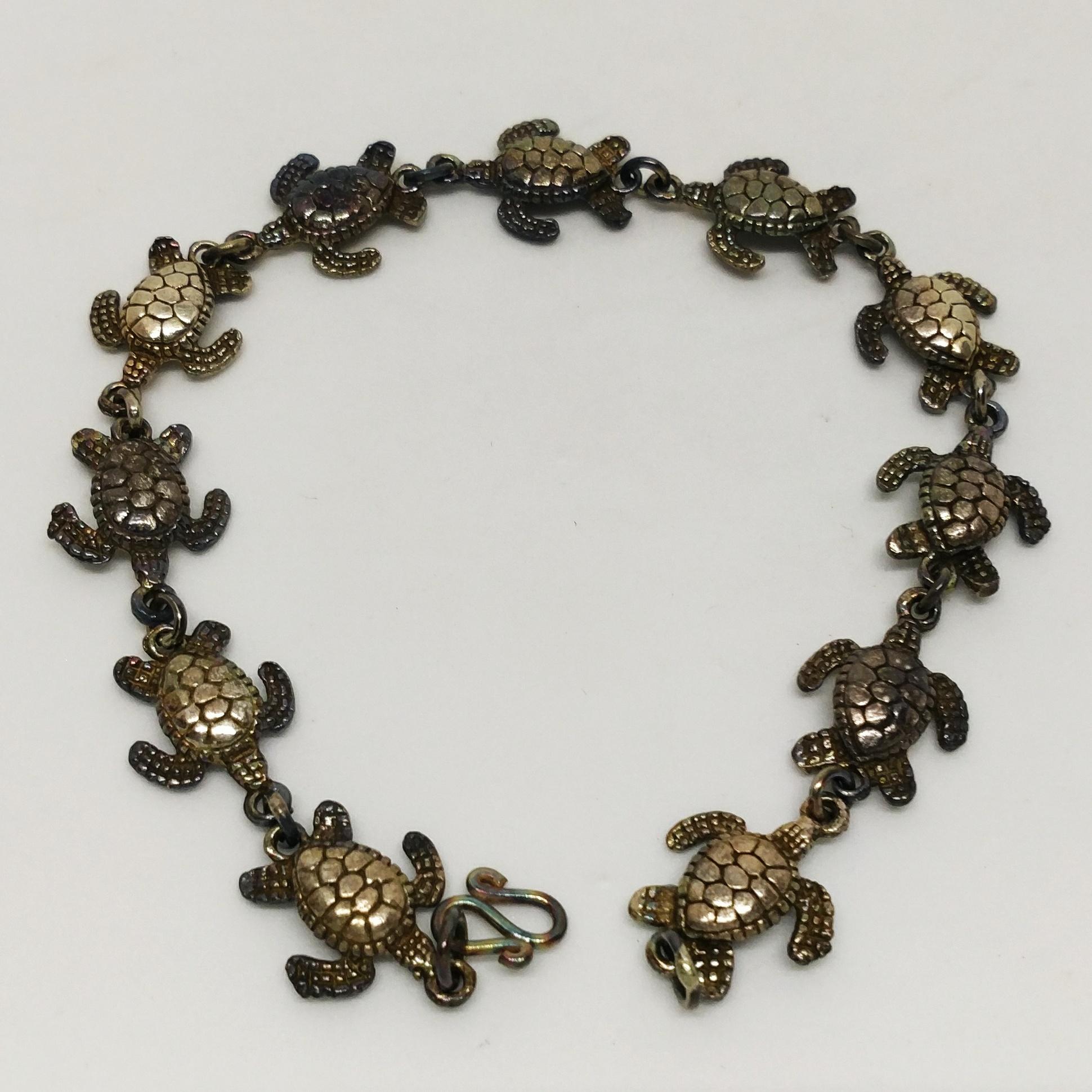 海龜手環 (銀)