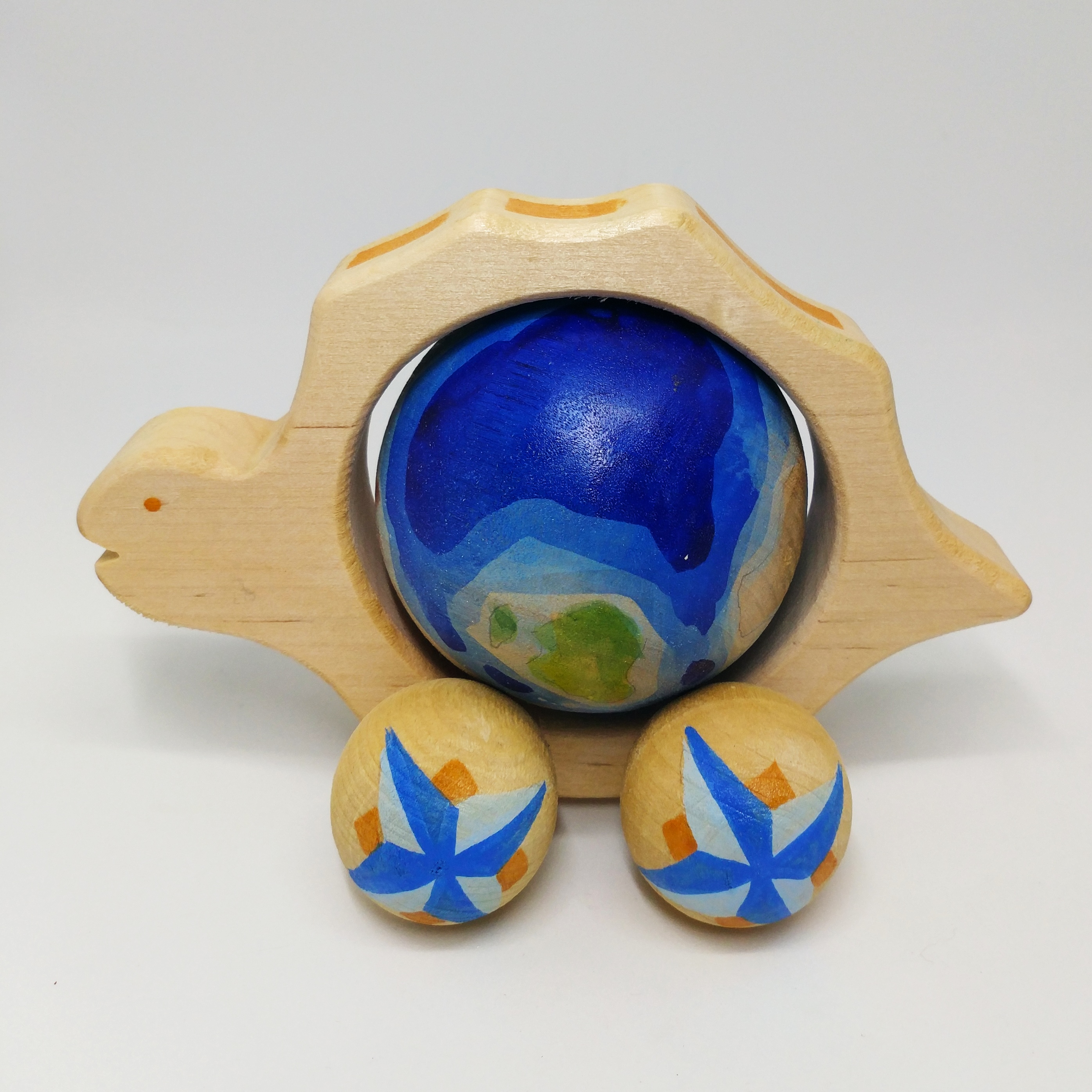 地球儀大烏龜