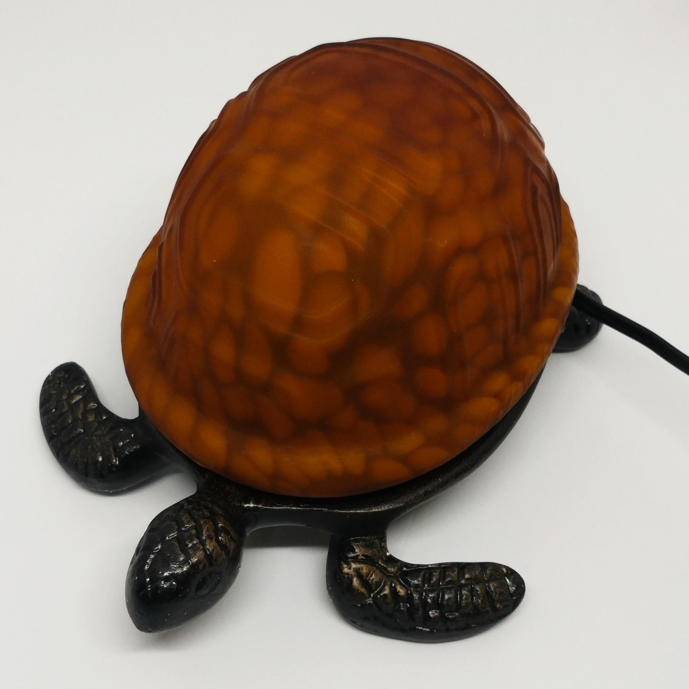 海龜檯燈 (黃)